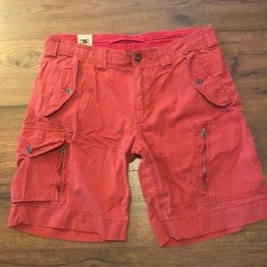 Polo Ralph Lauren Red Cargo Shorts